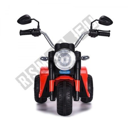Motorek na akumulator MiniBike czerwony !