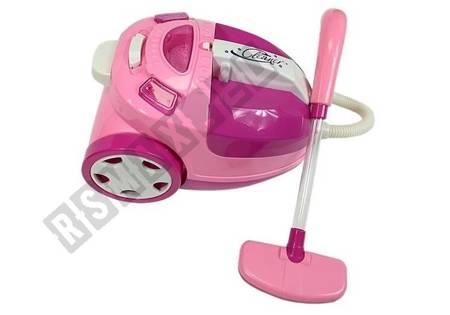 Odkurzacz Dziecięcy Na Baterie Różowy