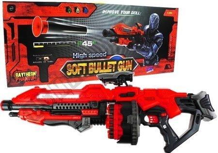 Pistolet Gigant 80 cm Karabin Na Strzałki 20 Naboi