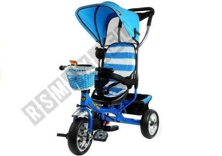Rower Trójkołowy PRO300 Niebieski Koła EVA