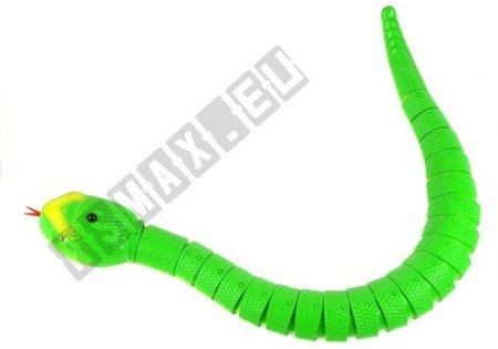 Wąż Sterowany Pilotem na Podczerwień Zielony
