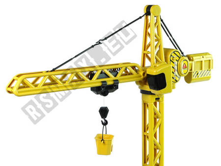 Zdalnie Sterowany Dźwig R/C Zestaw Maszyn Budowy