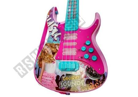 Zestaw Gitara z Mikrofonem Zestaw Karaoke