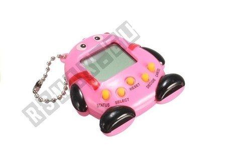 Zwierzątko Elektroniczne Brelok Tamagotchi 168w1 Różowe